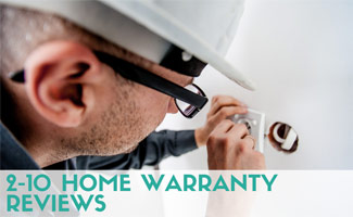Repair man working: 2-10 Home Warranty Reviews