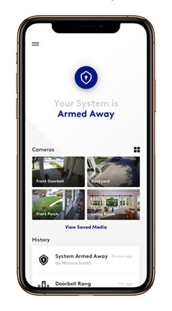 Blue by ADT App Screenshot
