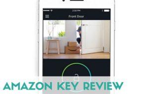 Amazon Key on iPhone screen