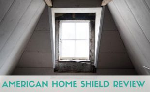 Window in attic: American Home Shield Reviews