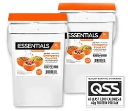 BePrepared Emergency Essentials kits 2 months