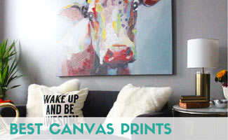 Canvas art hanging on wall: Best Canvas Prints