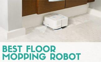 Floor Mopping Robot cleaning floor