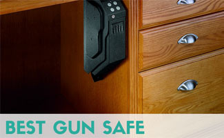 Gun Safe under desk