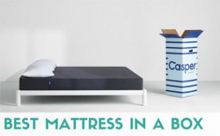 Casper mattress with box