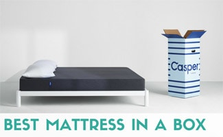 Casper mattress with box