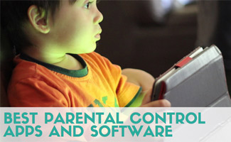 Kid on tablet (caption: Best Parental Control Apps and Software)