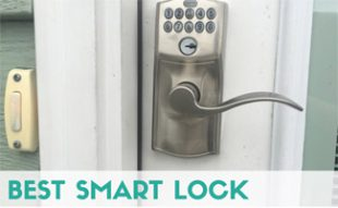 Smart lock on door: Best Smart Lock: Schlage vs Kwikset Kevo vs August