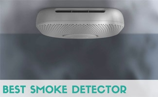 Nest protect with smoke (image in text: best smoke detector)