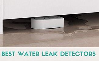 Govee water leak detector (caption: Best Water Leak Detectors)