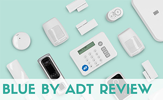 Blue by ADT equipment (Caption: Blue By ADT Review)