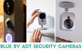 3 Blue by ADT Cameras (caption: Blue By ADT Security Cameras)