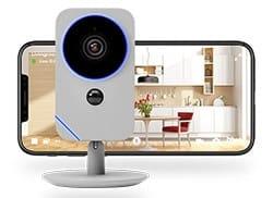Blue Indoor Camera