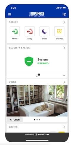Brinks App Screenshot