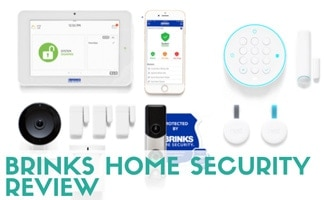 Brinks Home Security system (caption: Brinks Home Security Review)