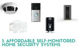 5 Affordable Self-Monitored Home Security Systems