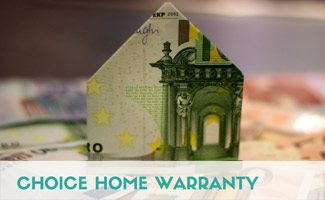 Money folded in shape of house: Choice Home Warranty Reviews