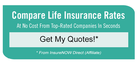 Compare Life Insurance Rates Quote Box