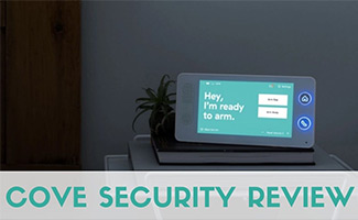 Cove control panel (caption: Cove Security Review)