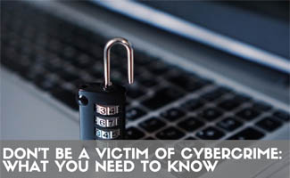 Lock on computer keyboard (Caption: Don't Be A Victim of Cyber Crime: What You Need To Know)