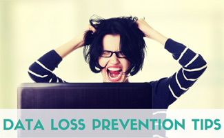 Woman pulling her hair out: 9 Data Loss Prevention Tips For Your Digital Life