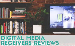 TV and bookcase: Digital Media Receivers Reviews