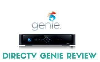 DirecTV Genie and logo: DirecTV Genie Review