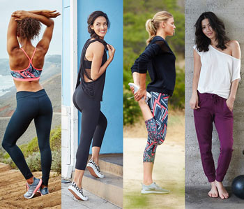 Women wearing Fabletics