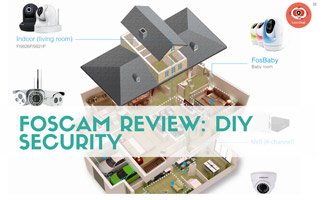 Camera with security cameras: Foscam Review