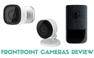 Frontpoint security cameras (caption: Frontpoint Cameras Review)