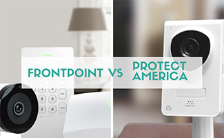 Frontpoint vs Protect America equipment