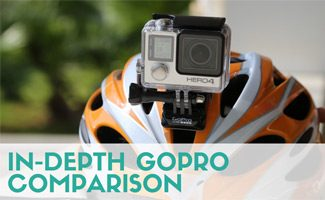 GoPro on a helmet: An In-Depth GoPro Comparison
