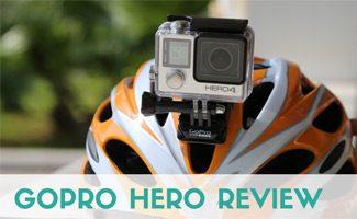 GoPro Hero on helmet