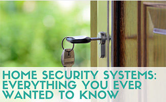 Door lock (caption: Home Security Systems: Everything You Ever Wanted To Know)
