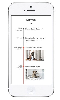 Honeywell Home Security app