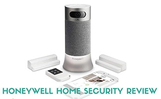 Honeywell Home Security system (caption: Honeywell Home Security Review)