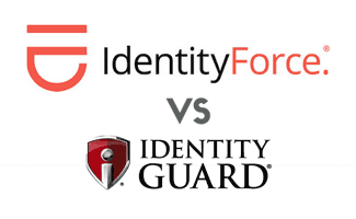 IdentityForce vs Identity Guard<sup>®</sup> logos
