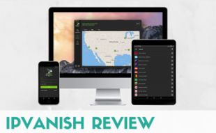 IPVanish screens on devices