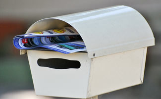 Mailbox with mail: Mail Theft