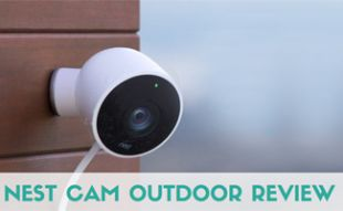 Nest Cam Outdoor on side of house