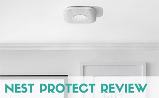 Nest Protect on ceiling