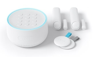 Nest Secure product on table