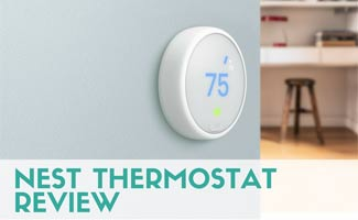 Nest Thermostat E on wall