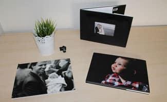 Baby Photo Book on floor