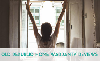 Woman in window: Old Republic Home Warranty Reviews
