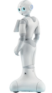 Pepper by SoftBanks Robotics