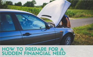 Man fixing car: How to Prepare for Sudden Financial Need