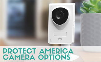Protect America Camera (caption: Protect America Camera Options)