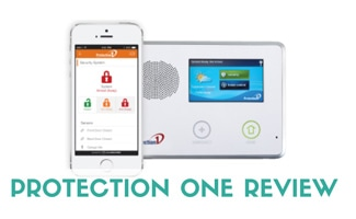 Protection One equipment (caption: Protection One Review)