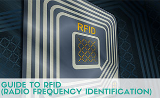 RFID Chip (Caption: Guide to RFID radio frequency identification